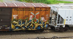 eatr (timetomakethepasta) Tags: train graffiti box rail boxcar bew freight yah igk vok eatr