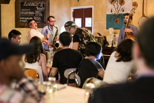 Jazz night at Amancay's Diner Brooklyn