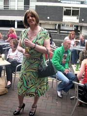 Sparkle 2009 (4) (janegeetgirl2) Tags: street out manchester outside canal tv high dress clubbing crossdressing tgirl sparkle transgender short transvestite heels crossdresser ts transsexual