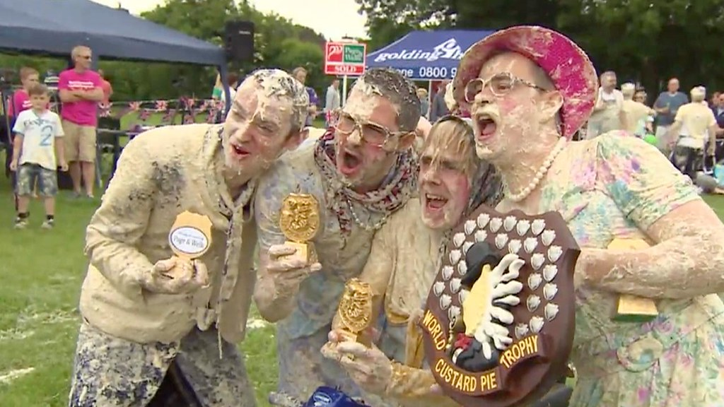 World custard pie championships
