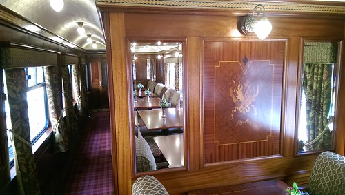 Royal Scotsman interior
