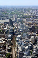 090. London Eye. View from the Shard. 15-July-15. Ref-D112-P090 (paulfuller128) Tags: from city uk bridge england london eye view shard