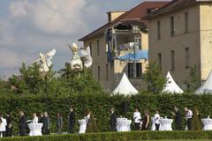minuetto (Zioluc) Tags: street party castle wonder flying dancers outdoor pole reception hedge reggia venaria luciobeltrami