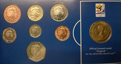 World Cup Coin Set South Africa 2010 Inc 2008 Coins From Bank Of England. (Columbiantony Photography) Tags: world africa london cup coin coins album south mint royal collection collections worldcup 2008 2010 2010worldcup