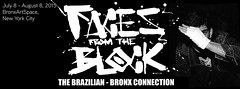 FACES FROM THE BLOCK - The Brazilian Bronx Connection. (izolag) Tags: show streetart newyork art bronx culture event hiphop artshow hip rap bboy streetartshow hiop izolag facesfromtheblock