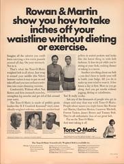 1969 Tone-O-Matic with Rowan & Martin Advertisement Life Magazine April 11 1969 (SenseiAlan) Tags: life 1969 magazine with martin 11 advertisement april rowan toneomatic