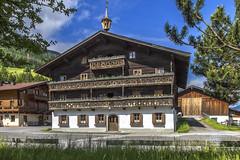 Austria, Mittersill - Traditional house (robdeheer) Tags: architecture architectuur mittersill salzburgerland traditionalhouse oostenrijkaustriasterreichlandscapebergenmountainsalpenalpssalzburgerlandnatuurnaturekitzbheleralpenrallye2015