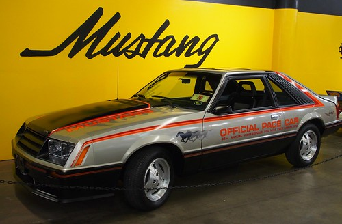 1979 Ford Mustang Indy Pace Car u0027TBF 158u0027 1 & Flickriver: Most interesting photos from Pace Cars of NASCAR and ... markmcfarlin.com