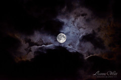 Once in a Blue Moon (Rainbow_127) Tags: uk sky moon london night clouds nikon moody atmosphere surrey fullmoon bluemoon 2015 70200mm28 31stjuly d7000
