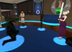 7_26_15 Varyk Master Ceremony On One Knee 10 _ Jesma speaking for Var (elyssa.moonshadow) Tags: life people star starwars sl jedi second wars yavin roleplay