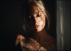 * (derlevi) Tags: portrait woman shades shadow sun light pattern face eyes lashes lips window zd