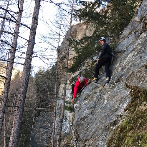Klettersteig Burg Heinfels E/F 2016