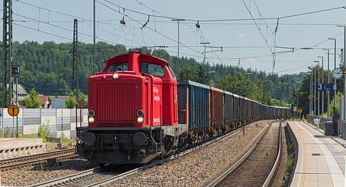 465 der Albtal Verkehrs Gesellschaft in Amstetten