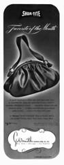 Shur-Tite Purses (jerkingchicken) Tags: vogue vintagefashion forties 1940s vintagepocketbooks vintagepurses