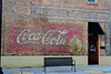 Coca-Cola Ghost Sign, Dayton, TN (Robby Virus) Tags: dayton tennessee tn faded ghost sign signage cocacola coffee shoppe forgotten advertisement brick wall ad
