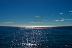 (Shades of) blue (Kym.) Tags: andalucia andalusia blue blues cloud day2 house impermanent infinite nerja sea sky spain view igottheblues