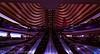 Center Lane (4 Pete Seek) Tags: atlanta atlantageorgia atl atlantaurbanphotowalkers atlantaarchitecture architecture abstract abstractarchitecture escalator wideangle wa swa superwideangle ultrawideangle uwa rokinon rokinon8mm fisheye atlantamarriottmarquis marriottmarquis