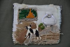 helen mudge (TuscanyDayByDay) Tags: brooch textilebrooch towear broochwithdog jewellary handmadejewellary