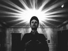 me, myself and i (matthias hämmerly) Tags: selfie black white contrast ricoh grd 2 grain zuerich street strreetphotography