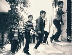 In elementary school - Ajdabiya, Libya (Mohamed Al theeb) Tags: at snapseed pic picoftheday photo photos libya street streetphotography people libyan photography photoday photodaily photogram everdaymiddleeast middleeastlife mirror blackandwhite blackandwhitephotography