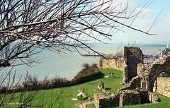 East Sussex - Hastings Castle (Fontaines de Rome) Tags: east sussex hastings castle