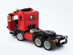 Scania (BuildMe) Tags: lego legocreator car truck vehicle moc scania