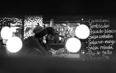 Connected Strangers (explored) (HSOBERON) Tags: altocontraste antioquia bw blackandwhite blancoynegro byn calle canon70d colombia endor endorinc f18 fotografiacallejera hernansoberon hsoberon nikkor50mm norebos plazapaquita soberon streetphotography