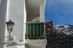 Trevelez (larecettedujour) Tags: alpujarras andalucia trevelez architecture peppers red lamp balcony
