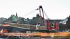 Merry Christmas. (HivizPhotography) Tags: liebherr lifting lr1200 weldex crane crawler edinburgh scotland uk christmas foundations construction heavy boom rain dull