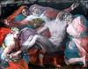 IMG_7757A Rosso Fiorentino. (Giovanini Batista di Jacopo) 1495-1540. Florence et Paris.  Pieta. Louvre. (jean louis mazieres) Tags: peintres peintures painting musée museum museo france paris louvre rossofiorentino