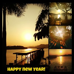 Happy New Year! (austinjosa) Tags: harbourfront seaside sunrise hongkong saikung