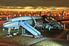 Lufthansa Lockheed L-1049 Constellation D-ALEM @MUC/EDDM (airbus-a340) Tags: muc eddm munich münchen flughafen airport 20161209 boeing airbus spotter classic airliner besucherpark lockheed constellation l1049 douglas dc3 preserved aircraft airfield aviation plane dalem