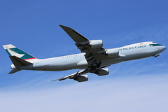 Cathay Pacific Cargo Boeing 747-867F B-LJK (Mark Harris photography) Tags: spotting anc anchorage plane alaska aircraft