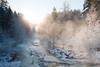 At Nukarinkoski / Nukari rapids (Samakaise) Tags: talvi tiltshift nukarinkoski tokina1224mm ollintestejä
