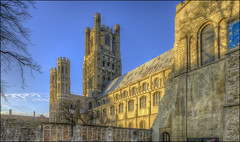 Ely Cathedral 22 (Darwinsgift) Tags: ely cathedral church hdr pce tilt shift nikkor 24mm f35 photomatix pro nikon d810 multiple exposure