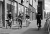 Young Girls (Hindrik S) Tags: young girl bicycle cycling fiets fryslân liwwadden ruiterskwartier winkelcentrum mall four 2015 blackandwhite swart wyt swartwyt sonyphotographing sony sonyalpha a57 α57 slta57 tamron tamronspaf1750mmf28xrdiiildasphericalif candid street strjitte straat straatfotografie streetphotography pedals pavement five