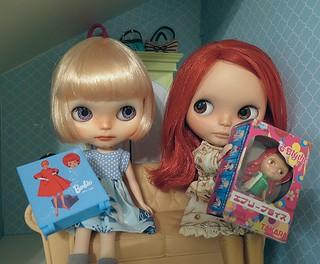 Barbie or Blythe?