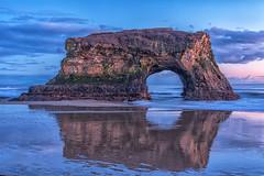 Nice night on the beach pt.2 (Justin Garofano) Tags: nikon santacruz sunset naturalbridges california pacific