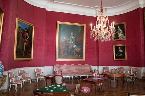 Le salon de compagnie, Château de Chambord