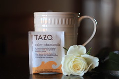 Can't Say No to Roses (cmd112) Tags: tea hot hottea healthy organic chamomile herb herbs rose rosepetal goodmorning morning tazo tazotea product productphotography canon t3i bokeh prophotographydesign early