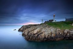 Last Light (FredConcha) Tags: blue sunset lighthouse france colors rock bretagne lee farol phare lastlight 1635 finistere pointesaintmathieu nikond800 fredconcha