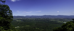 Kennedy Peak Pano (Evan Robohm) Tags: blue summer sky mountain rural virginia view peak clear ridge va valley vista shenandoah kennedy massanutten 500px ifttt