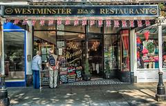 The Tea Rooms (graeme murray - digitalplaces) Tags: street people colour landscape restaurant cafe tea snack southport