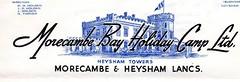 Morecambe Bay Holiday Camp, Heysham (trainsandstuff) Tags: morecambebay heyshamtower holidaycamp postcard vintage retro heyshamtowers heysham morecambe morecambebayholidaycamp lancs lancashire