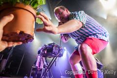 Potted Plant & Dan Deacon (Dave G Kelly) Tags: show people plant primavera portugal festival concert live gig pot porto pottedplant performer primaverasound dandeacon nosprimaverasound lastfm:event=3913090