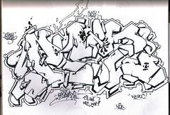 """PRIZ-ONE CACITY QUICK BLACKBOOK SKETCH."" (2002) (""OLDSCHOOL SUBWAY GRAFFITI WRITER!"") Tags: graffiti walls priz tsf prizone 1980s subwaygraffiti broadway writers yards nyc trains tds tmt pz prz prizmatic prizzypriz prizo prizmagicacity prizzy prizmagic prizma prizm prisms prismpriz prismone prismaticacity prisma prismatic prism tsfcrew"