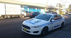Ford Falcon Police car (FotoSleuth) Tags: ford car xt omega australian police australia nsw falcon commodore vf holden fg