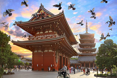 Japan (Kenny Teo (zoompict)) Tags: japan architecture landscape temple tokyo kanon asakusa zoompict kennyteo