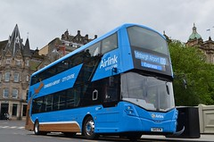 Airlink Upgrade (@ tb 2018) Tags: edinburgh 433 lothianbuses edinburghairport airlink wrightstreetdeck