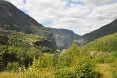 Widok na Flåm, Norwegia | A glimpse at Flåm, Norway